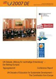 Tagungsdoku EU-Konferenz Endversion 10.01.2008.indd