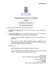 Papers for Meeting 8 November 2012 (148KB pdf) - Scottish ...