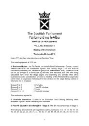 456KB pdf - Scottish Parliament