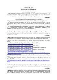 Daily Written Answers Friday 31 May 2013 (175KB pdf) - Scottish ...
