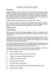 UNISON Scotland (119KB pdf) - Scottish Parliament