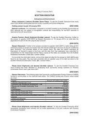 Daily Written Answers Friday 27 January 2012 (138KB pdf)