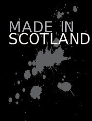 Made in Scotland - Scottish Screen