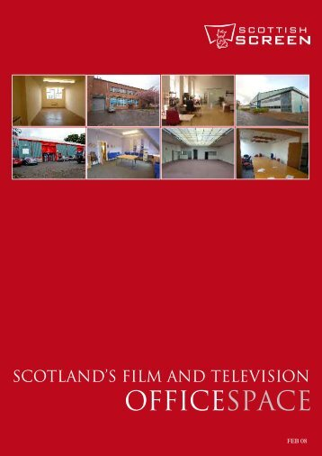 SCOtlAnd'S FIlm And tElEvISIOn - Scottish Screen