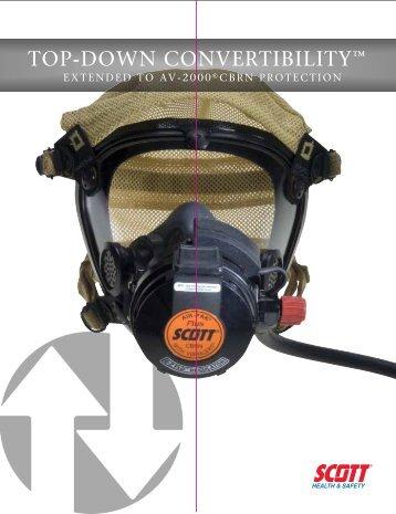 AV-2000 CBRN APR - Brochure - Scott Safety