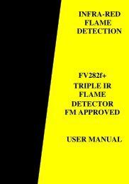 Flame Vision FV282f+ - User Manual - Scott Safety