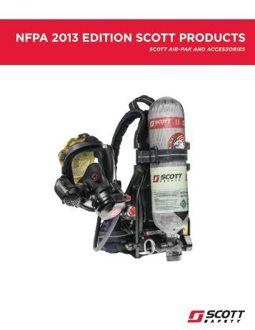 NFPA 2013 Edition Scott Products - Brochure (English) - Scott Safety