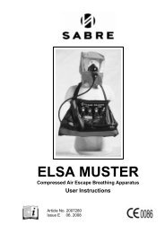 Elsa Muster User Manual in English - Scott Safety