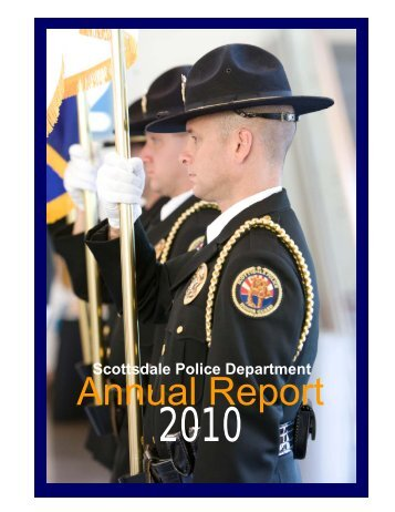SPD 2010 Annual Report.pub - City of Scottsdale