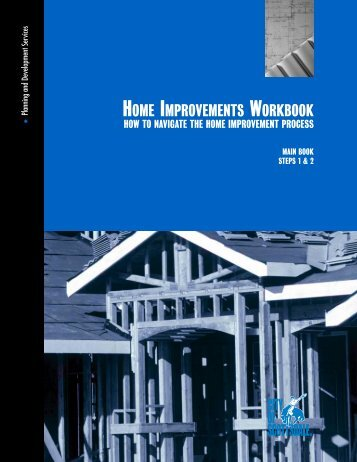 Home Improvement Workbook - City of Scottsdale