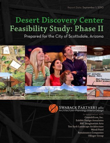 Desert Discovery Center Feasibility Study: Phase II - City of Scottsdale