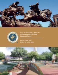 Comprehensive Annual Financial Report - City of Scottsdale
