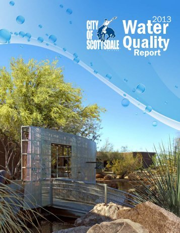 2013 Annual Water Quality Report - City of Scottsdale