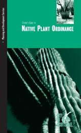 Native Plant Ordinance Guide for Homeowners - City of Scottsdale