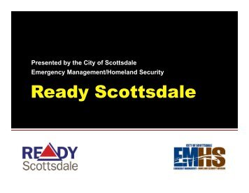 Ready Scottsdale presentation slides - City of Scottsdale