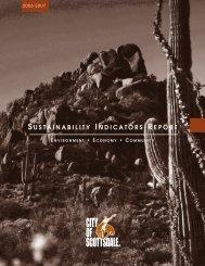 Sustainability book - City of Scottsdale