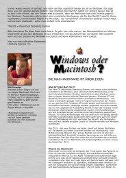 Apple vs. Windows - scout-out