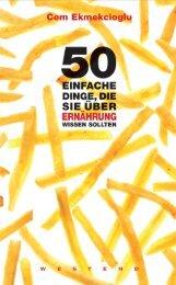 50 einfache Dinge, d.. - scout-out