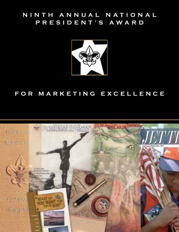 ninth annual national president's award for marketing excellence