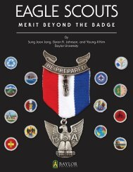 MERIT BEYOND THE BADGE - Boy Scouts of America