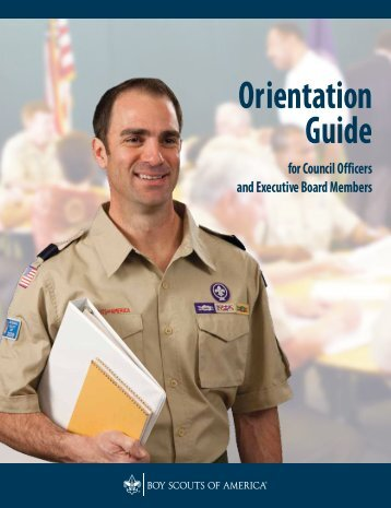 Orientation Guide for Council Officers and Executive Board Members