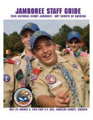 Jamboree Staff Guide - Boy Scouts of America