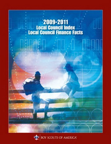 Council Finance Facts 2009-2011 - Boy Scouts of America