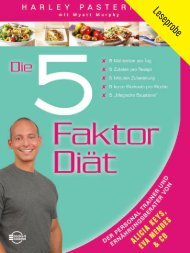 5-Faktor-Diät + + + Leseprobe -  Books4Success