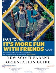 New Scout Parent Orientation Guide - Boy Scouts of America