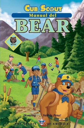 Manual del Bear - Boy Scouts of America