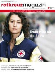 Rotkreuzmagazin 4 / 2009 - DRK Landesverband Hamburg ev
