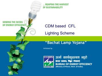 Bachat Lamp Yojana - Bureau of Energy Efficiency