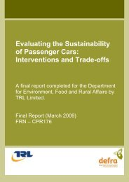 Evaluating the Sustainability of Passenger Cars - Low Carbon ...