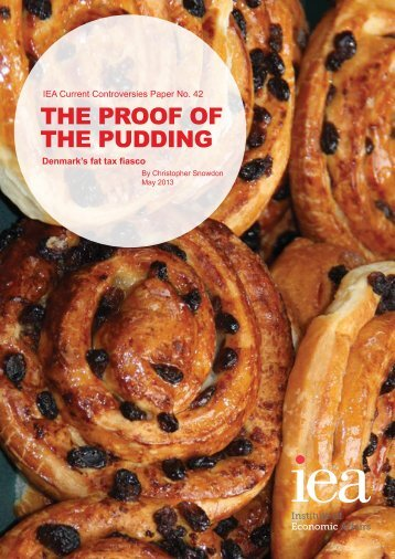 The Proof of the Pudding.pdf - Institute of Economic Affairs