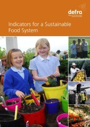 Indicators for a Sustainable Food System - The SCP Knowledge Hub