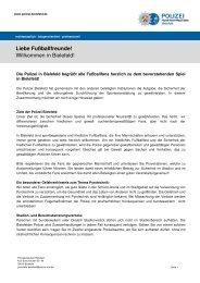 Fanbrief - SC Paderborn 07
