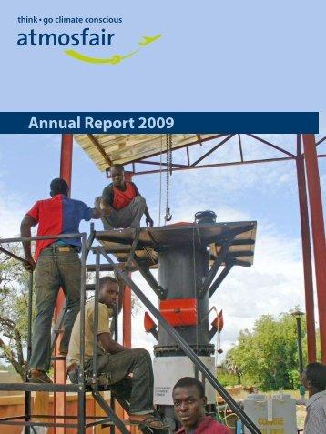 Annual Report 2009 - Atmosfair