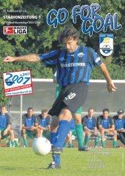 STADIONZEITUNG 1 - SC Paderborn 07