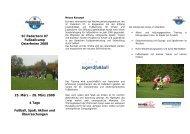 28. März 2008 4 Tage Fußball, Spaß, Aktion und ... - SC Paderborn 07
