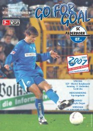 wacker burghausen - SC Paderborn 07