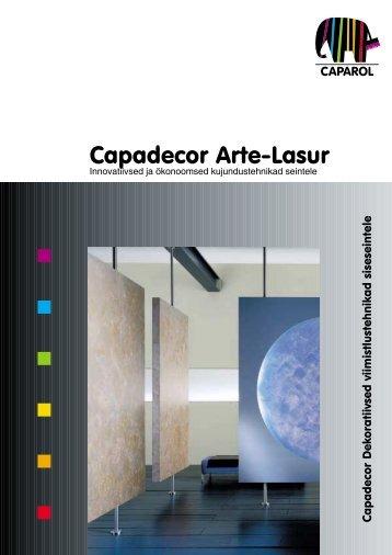 Capadecor Arte-Lasur - Caparol