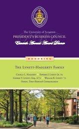 Download Formal Invitation Here - The University of Scranton