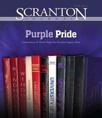 winter 2009-2010 - The University of Scranton