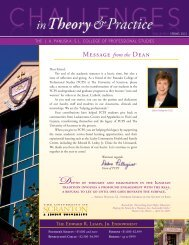 Spring 2012 - The University of Scranton