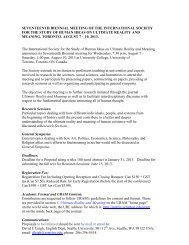 seventeenth biennial meeting of the international society for