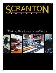 Making Headlines in the Media - The University of Scranton