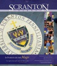 winter 2010-2011 - The University of Scranton