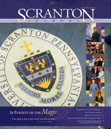 winter 2010-2011 - The University of Scranton