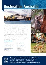 Destination Australia - AMA WA