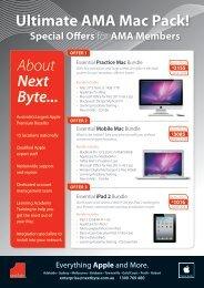 Ultimate AMA Mac Pack! About Next Byte... - AMA WA